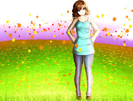AmandaClara - Art Trade by FlyingPings