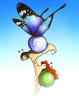 The Epic Butterfly Snail