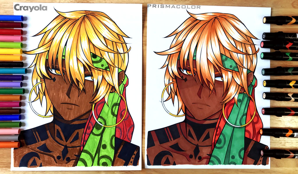 $5 Markers Vs. $125 Markers by FlyingPings on DeviantArt