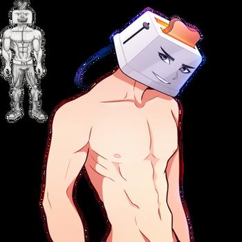 Anttron (Toaster Man) RAFFLE WINNER by FlyingPings
