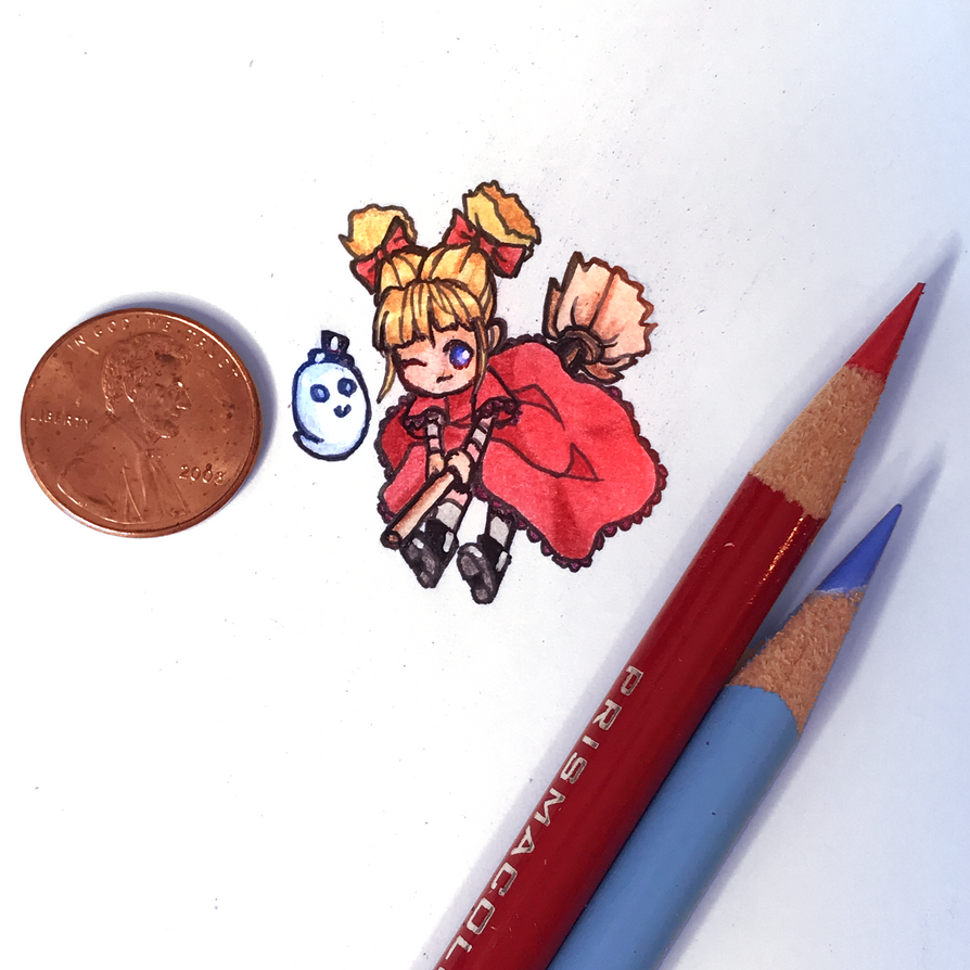 Teeny Weeny Art Challenge by FlyingPings