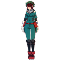 Izuku Midoriya as a girl