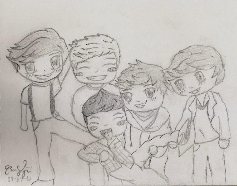chibi one direction coloring pages - photo#15