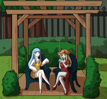 [PKMN-WOE] Tea and Glamour in the Garden