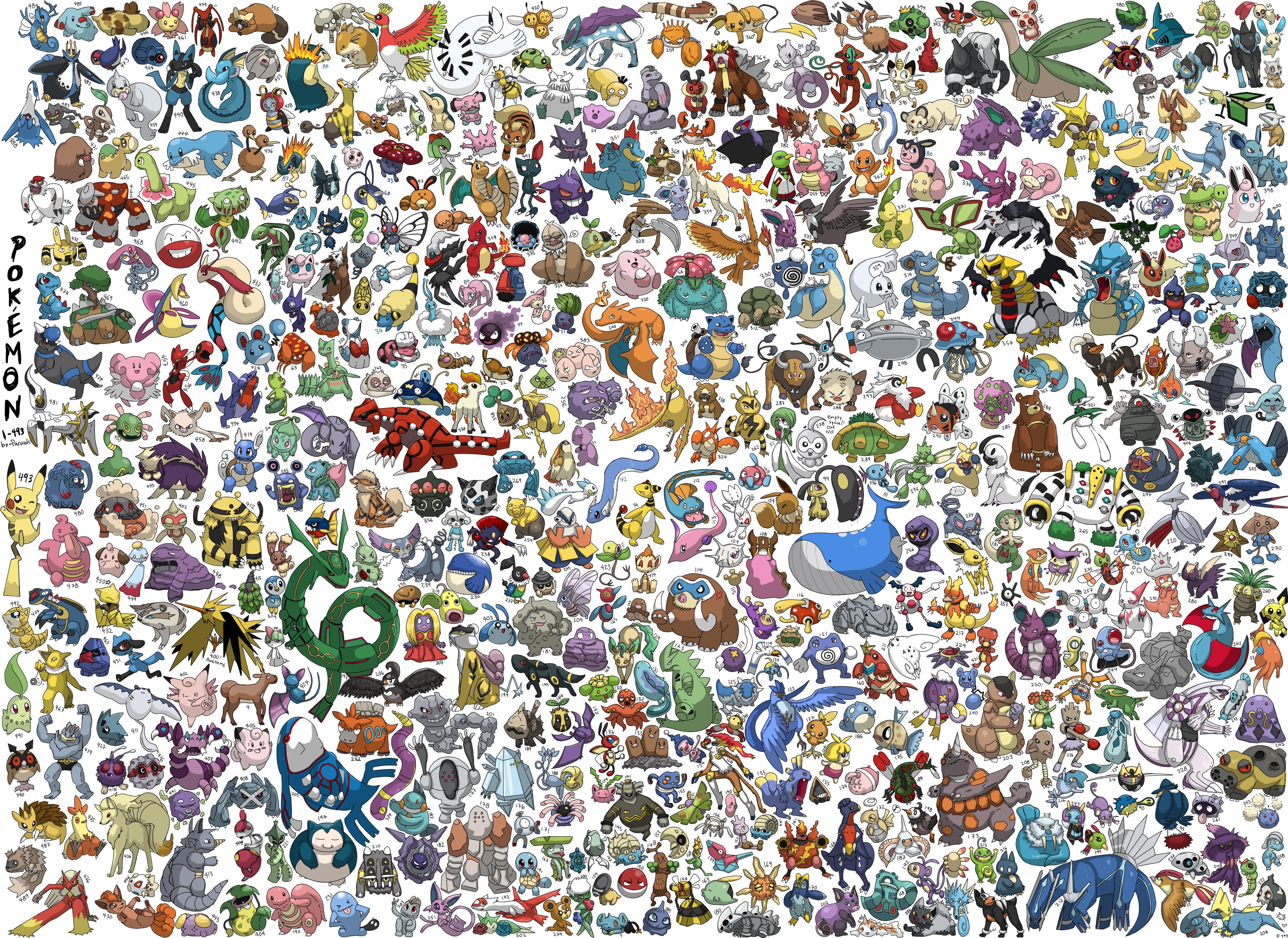 Pokemon. by Parasols on DeviantArt