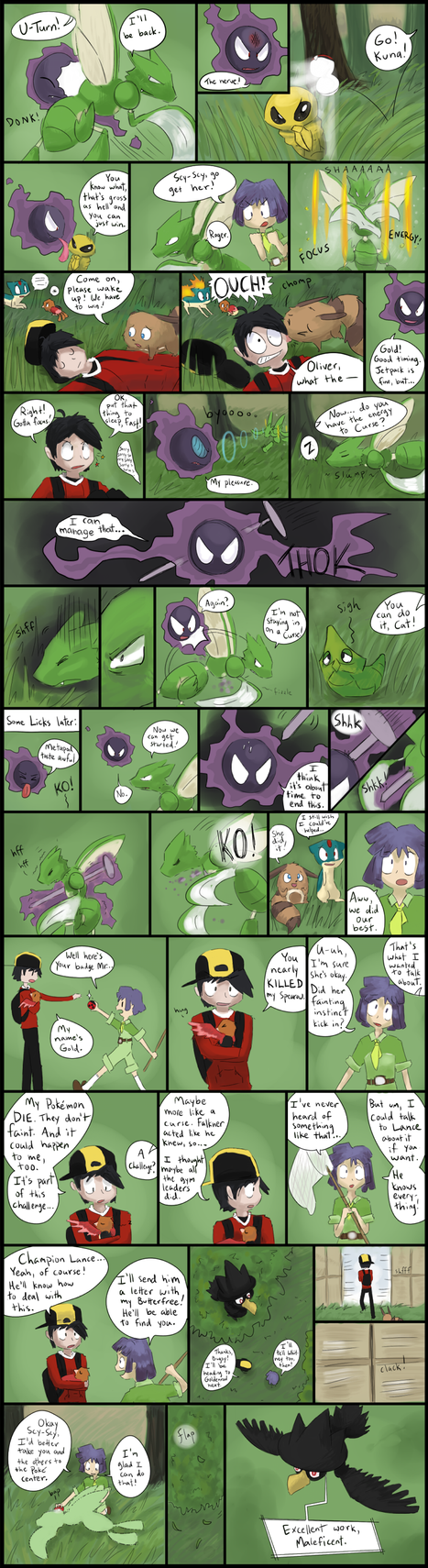 Kings and Pawns: A HGSS Nuzlocke - Page 26 by Parasols