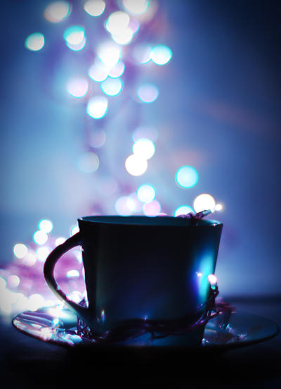 cup of bokeh by groundhog-day