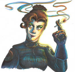 Lynnette Halgrin, the Death Jockey