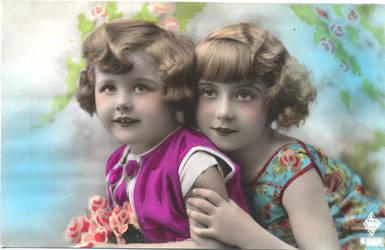 Vintage Children Stock 3 by vintage-visions