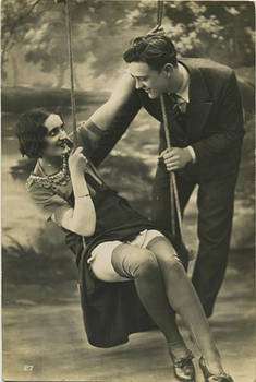 Vintage couple Stock 53