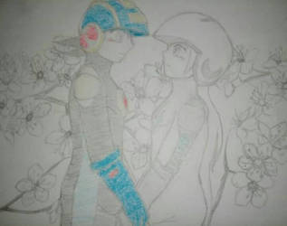 Cheery Flowers by devilyugi