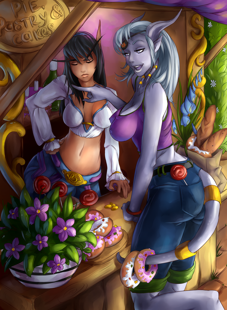 Sexy draenei drawing xxx images