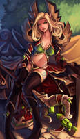 Lyronia Delana'thal by Ragora57