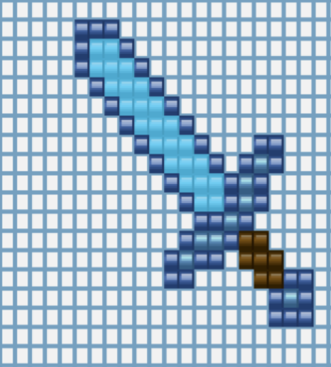 Perler Bead Patterns Minecraft Sword | Crafting