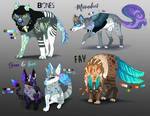 Canine Creature - ADOPTS [AUCTION END]