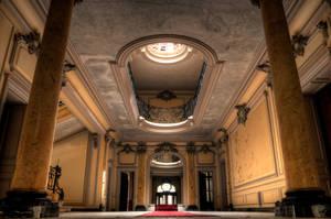 Entrance hall by xMAXIx