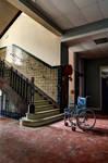 Wheelchair vs. Staircase