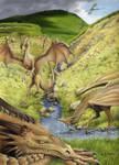 Dragons of Embsay Crag