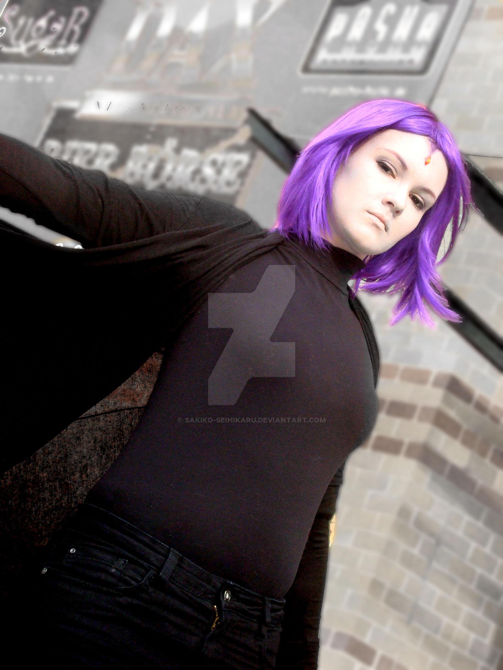 Teen Titans - Raven I by Sakiko-Seihikaru