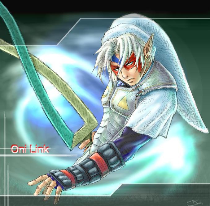 Fierce Deity Link X Dark Link
