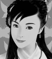 Chinese Girl Oekaki by kashigi