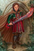 Noble Swordbearer by CarrieBest