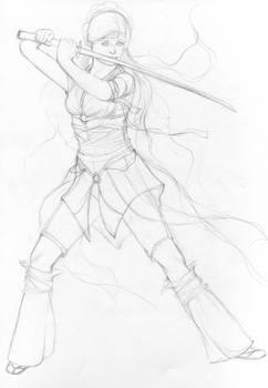 Swordfight sketch