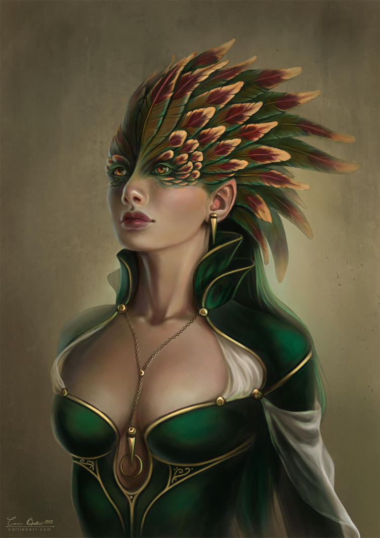 Crested Queen by CarrieBest