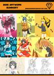2015 artwork summary