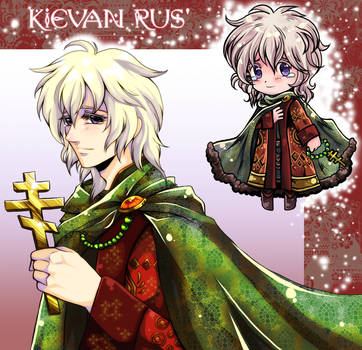 APH - Kievan Rus' -oc- by R-ninja