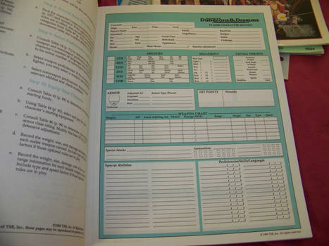 Geek Cred Character Sheets and Sourcebooks