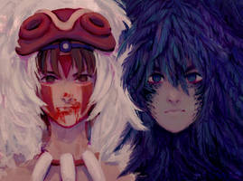Mononoke and Howl