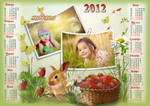 Calendar for 2012 - Strawberry Season