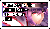 Crimson in the Black Sea ~ Legendary Fish by Youkai-Minori