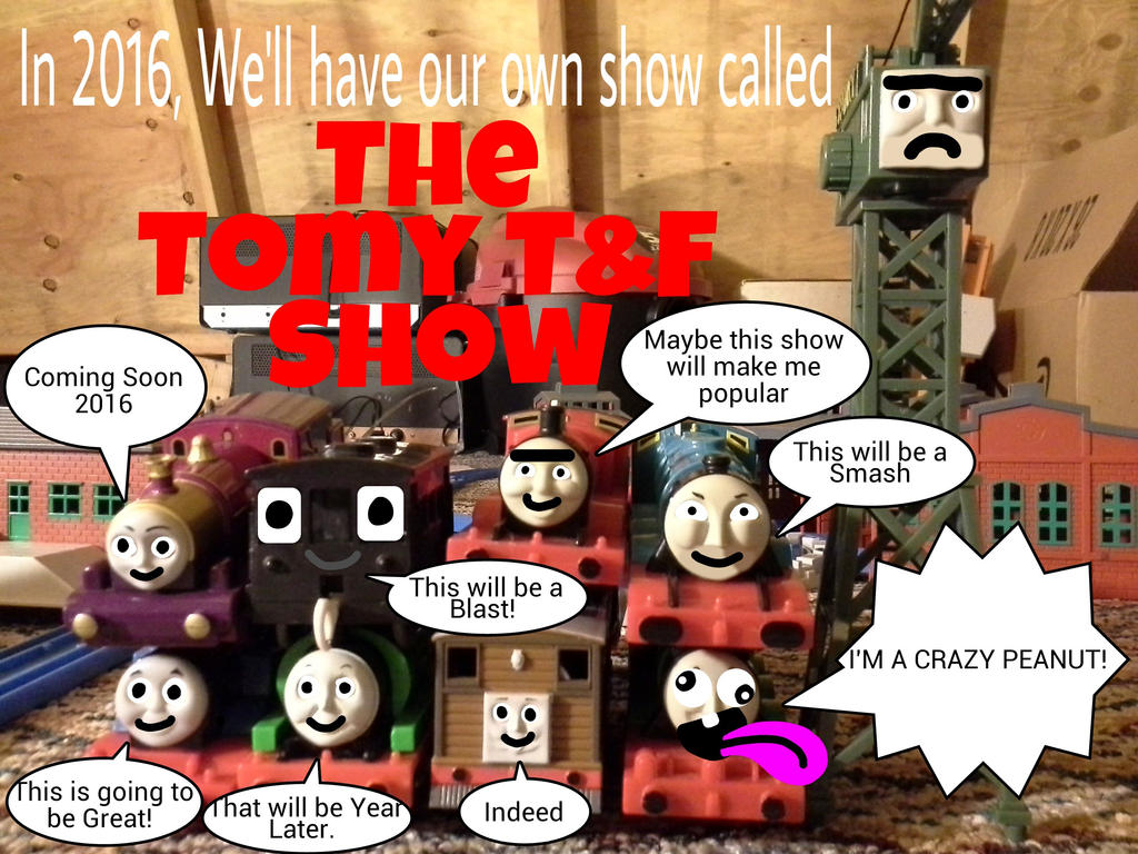 The Tomy TF Show Coming Soon 2016 by TrainboysArtwork
