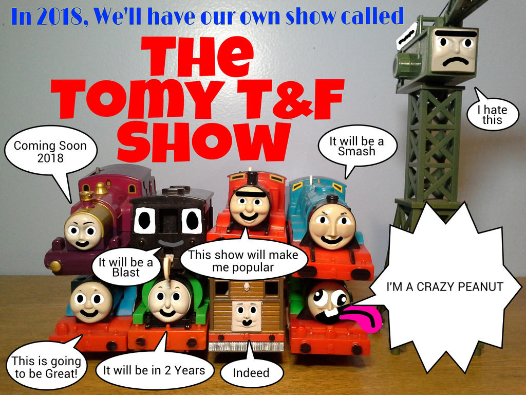 The Tomy TF Show Coming Soon 2018 Poster by TrainboysArtwork