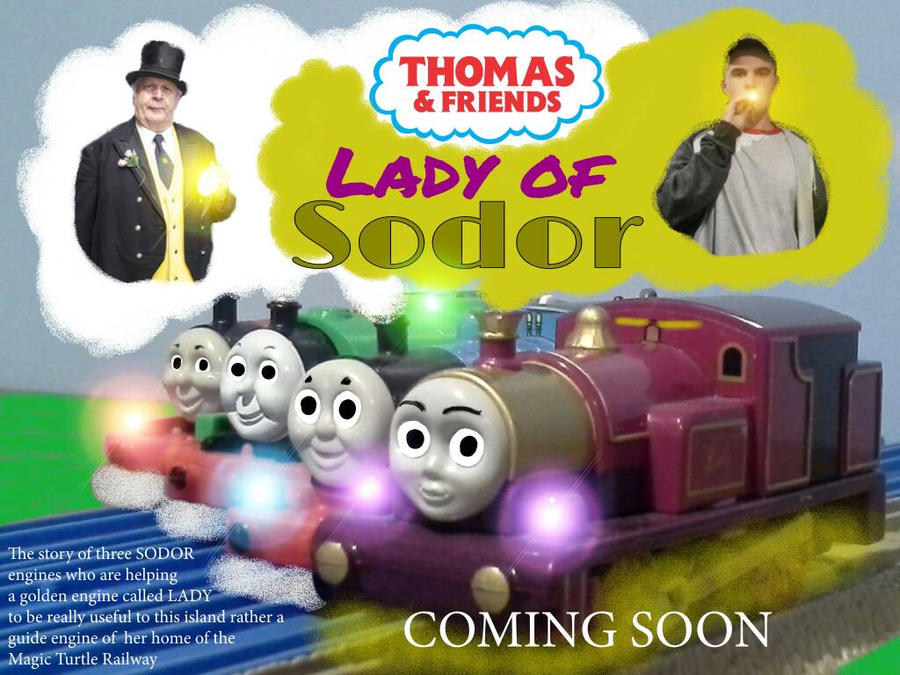 Thomas  Friends: Lady of Sodor Teaser Poster by TrainboysArtwork