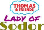 Thomas Friends: Lady of Sodor logo by TrainboysArtwork