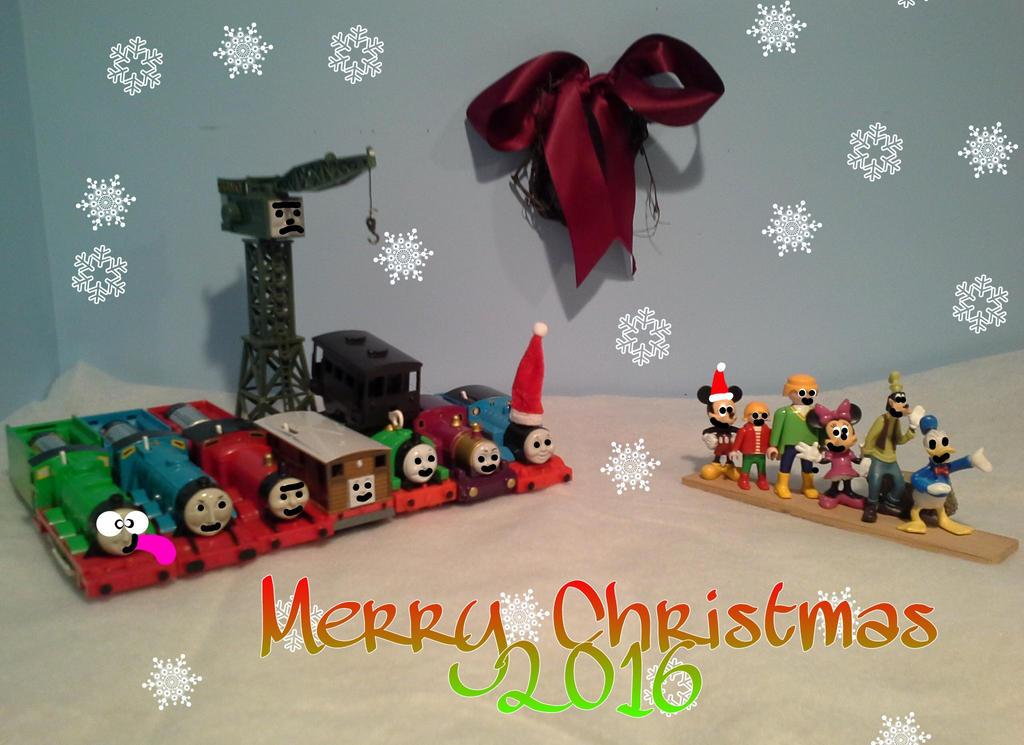 Merry Christmas 2016 by TrainboysArtwork