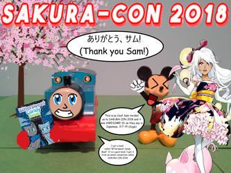 Sakura Con 2018 by TrainboysArtwork