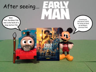 After seeing... Early Man by TrainboysArtwork