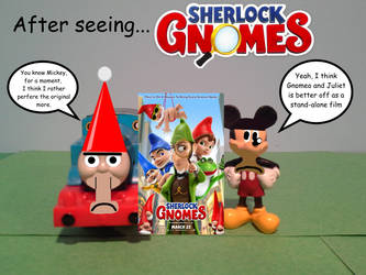 After seeing... Sherlock Gnomes by TrainboysArtwork