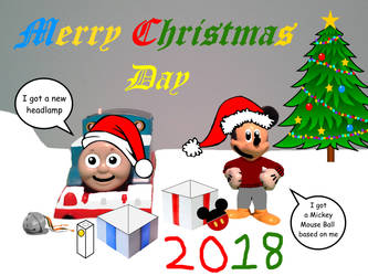 Merry Christmas Eve 2018 pt 2 (Christmas Day) by TrainboysArtwork
