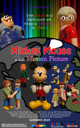 Mickey Mouse The Motion Picture Poster 6 by TrainboysArtwork