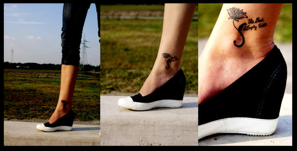 Shoes and Tattoo. by LuckyPetal