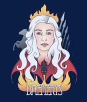 Daenerys Crest by KindaCreative