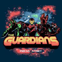 Retro Guardians by KindaCreative