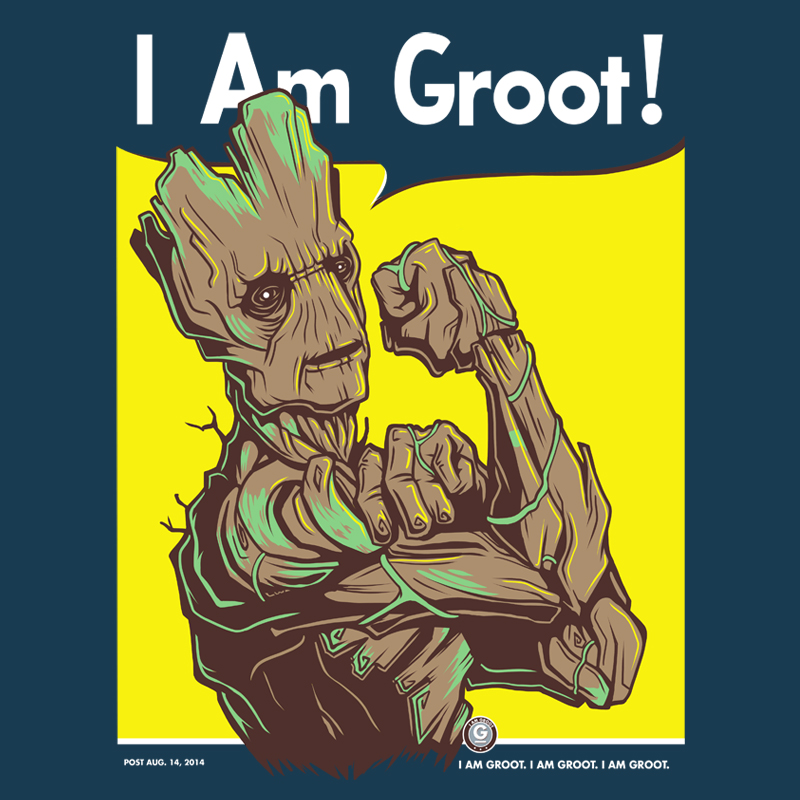 I Am Groot I am Groot! by KindaCr...