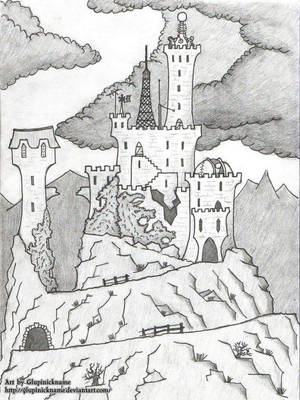 Mad Scientist's Castle 03 by Glupinickname