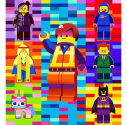 The Lego Movie by hollyfig